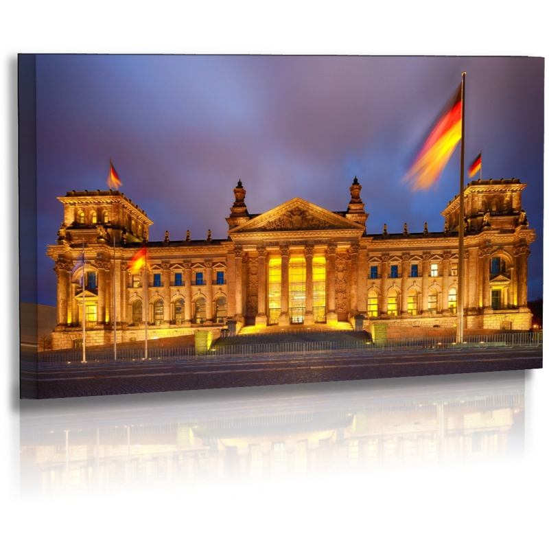 architekturfotografie bilder berlin stadt bundestag acrylglas. Black Bedroom Furniture Sets. Home Design Ideas