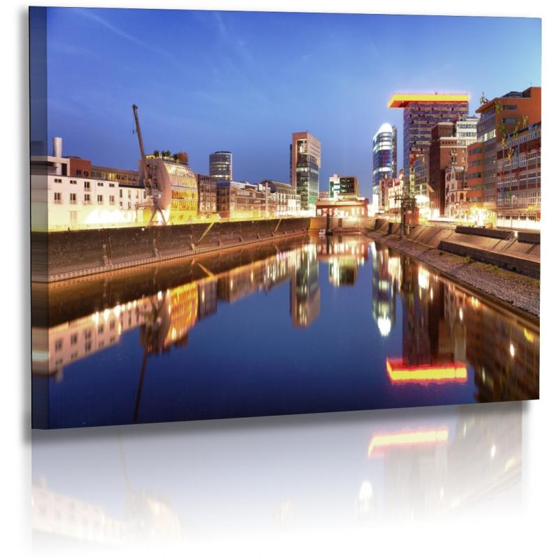 Architekturfotografie - Bilder - Düsseldorf - Stadt - Medienhafe