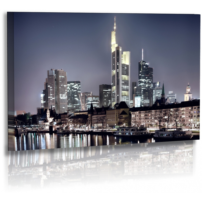 architekturfotografie bilder frankfurt stadt skyline acrylgla. Black Bedroom Furniture Sets. Home Design Ideas