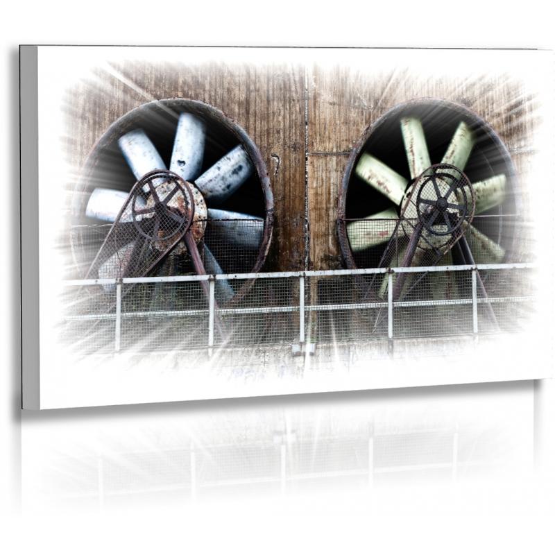 Architekturfotografie Bilder Turbinen Kunst