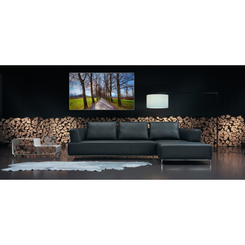naturbilder landschaft allee bild b ume weg leinwand 1. Black Bedroom Furniture Sets. Home Design Ideas