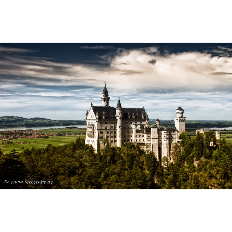 naturbilder landschaft bild bayern schloss neuschwanstein. Black Bedroom Furniture Sets. Home Design Ideas