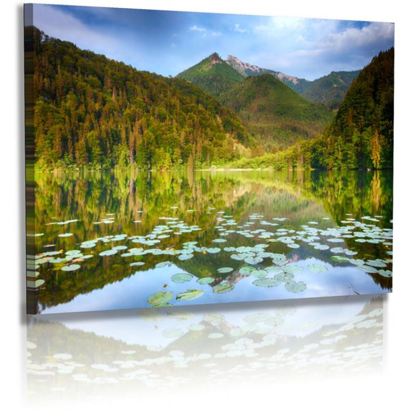 naturbilder landschaft bild berge see wald. Black Bedroom Furniture Sets. Home Design Ideas