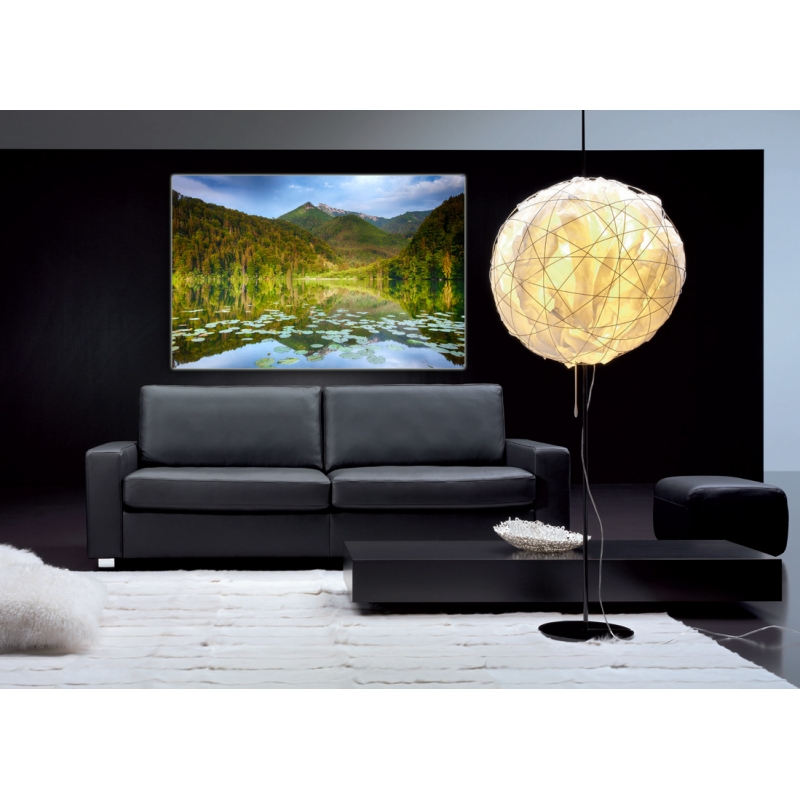 naturbilder landschaft bild berge see wald b ume s. Black Bedroom Furniture Sets. Home Design Ideas