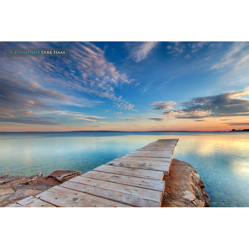 naturbilder landschaft bild kroatien meer strand steg s. Black Bedroom Furniture Sets. Home Design Ideas