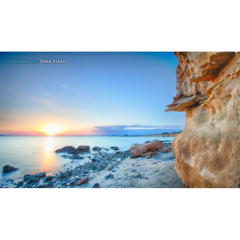 naturbilder landschaft bild sand kroatien strand leinwand 5. Black Bedroom Furniture Sets. Home Design Ideas