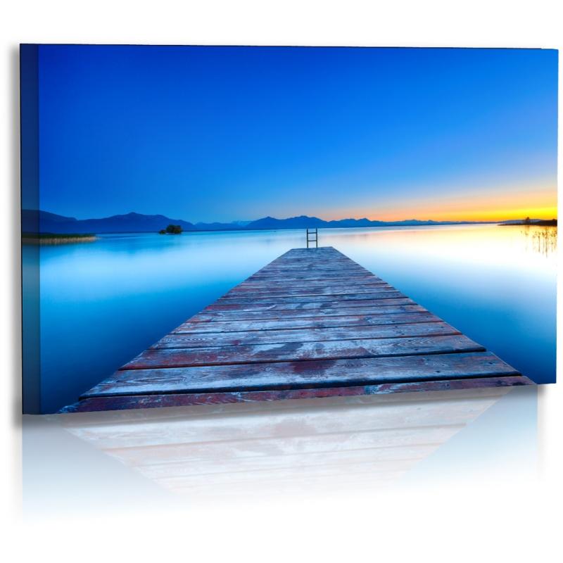 naturbilder landschaft bild sonnenuntergang. Black Bedroom Furniture Sets. Home Design Ideas