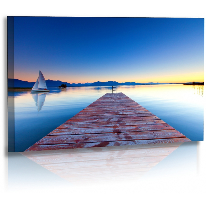 naturbilder landschaft bild sonnenuntergang chiemsee strand. Black Bedroom Furniture Sets. Home Design Ideas