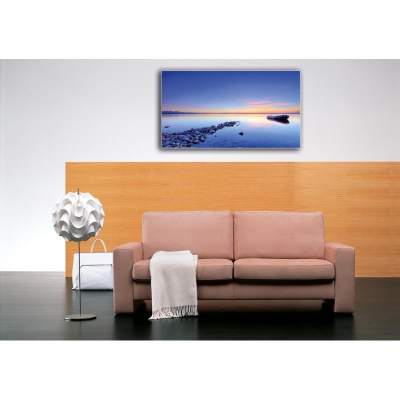 naturbilder landschaft bild steine chiemsee sonnenuntergang. Black Bedroom Furniture Sets. Home Design Ideas