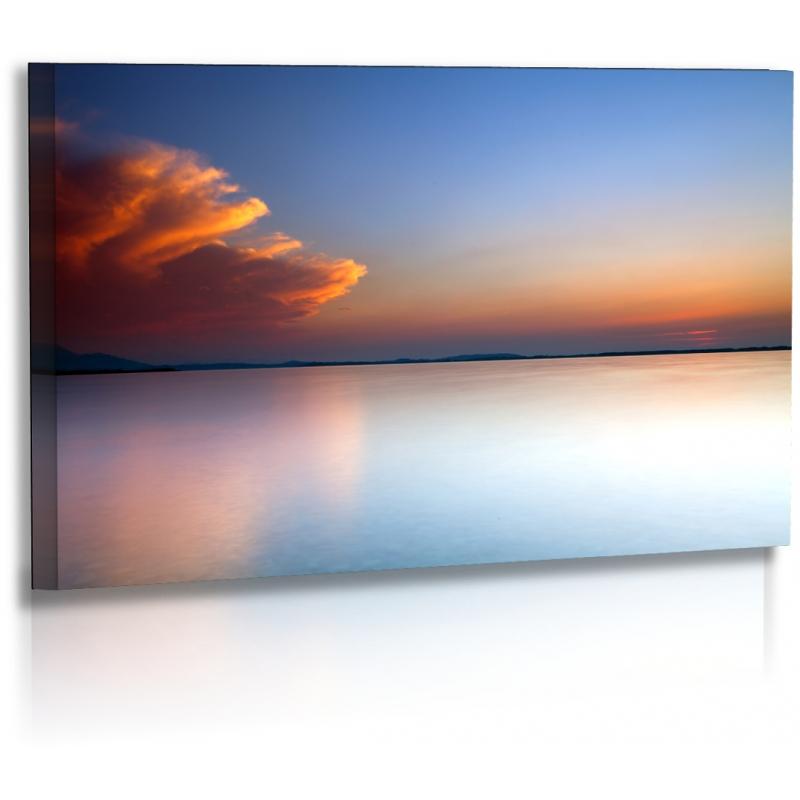 naturbilder landschaft bild wolken chiemsee sonnenuntergang. Black Bedroom Furniture Sets. Home Design Ideas