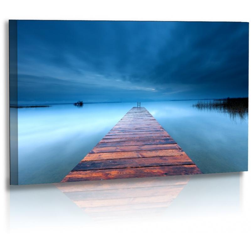 naturbilder landschaft bild wolken chiemsee strand steg. Black Bedroom Furniture Sets. Home Design Ideas