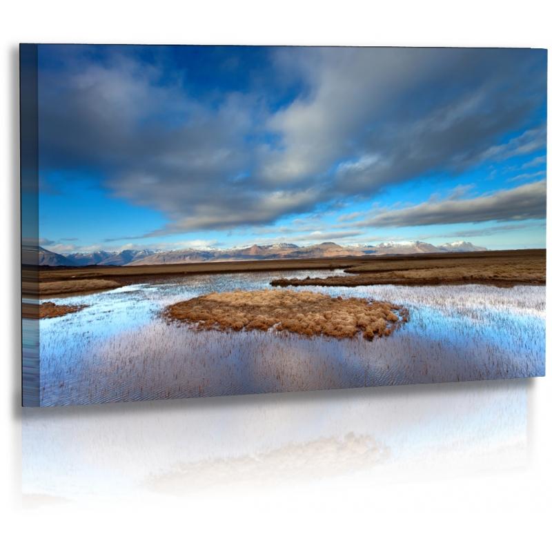 naturbilder landschaft island bild gras wolken moor su. Black Bedroom Furniture Sets. Home Design Ideas