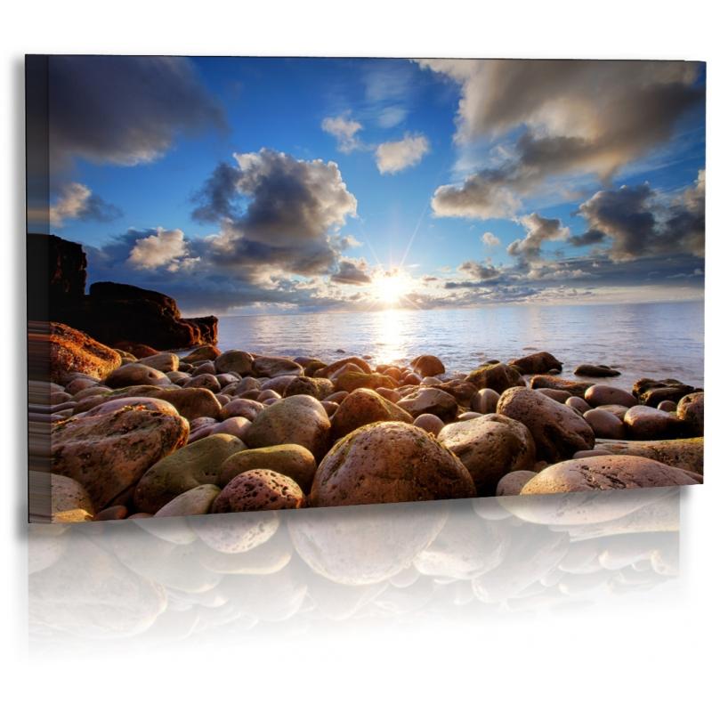 naturbilder landschaft island bild sonnenuntergang meer s. Black Bedroom Furniture Sets. Home Design Ideas