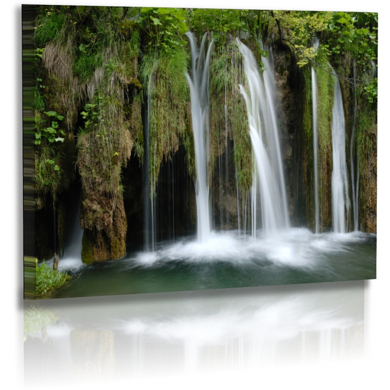 naturbilder landschaft kroatien bild wasserfall plitvice. Black Bedroom Furniture Sets. Home Design Ideas