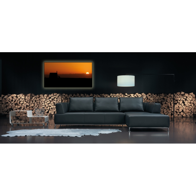 naturbilder landschaft lanzarote bild sonnenuntergang meer. Black Bedroom Furniture Sets. Home Design Ideas