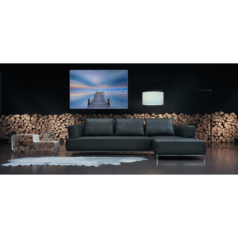 naturbilder landschaft steg bild wolken boote sonnenunter. Black Bedroom Furniture Sets. Home Design Ideas