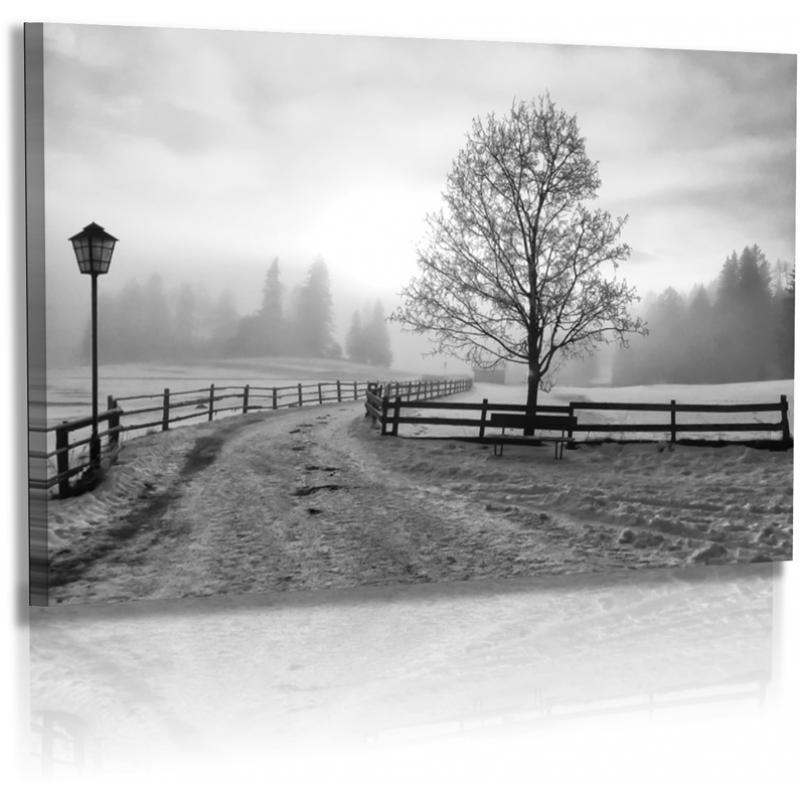 naturbilder landschaft winterlandschaft schnee nebel. Black Bedroom Furniture Sets. Home Design Ideas