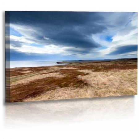 naturbilder landschaft island bild wolken fjord wiese m. Black Bedroom Furniture Sets. Home Design Ideas
